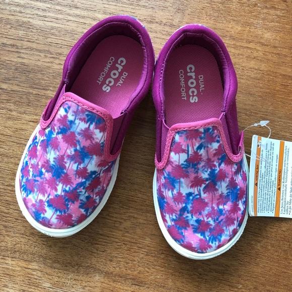 589f3d07b8bd Brand New with tag Pink 🌴 Crocs size C9